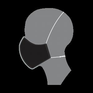 3 Layer Mask - Black