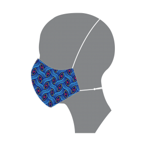 Blue Rope Shwe Shwe Mask