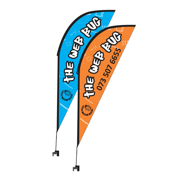 Teardrop Banner